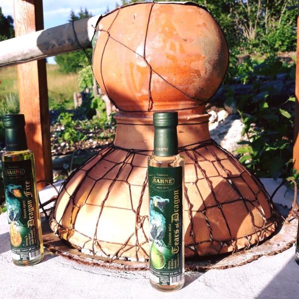 Žganjekuha oz. destilacija žganih alkoholnih pijač Bahne